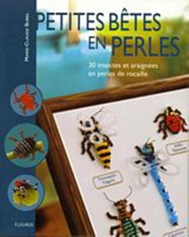 Различнейших насекомых из бисера