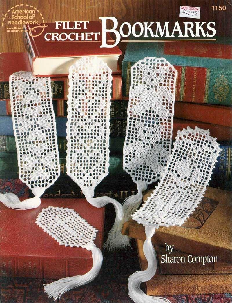 Книги по вязанию крючком салфетки