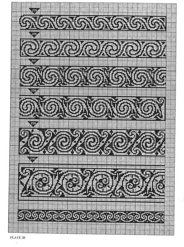 схем кельтских узоров,