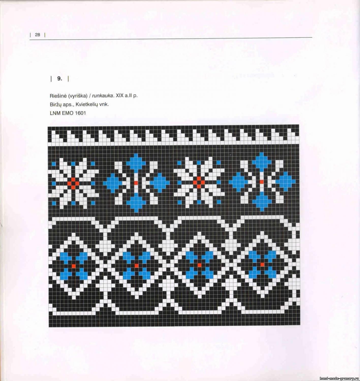 В книге представлено 50 схем для вязания напульсников спицами с использованием бисера.