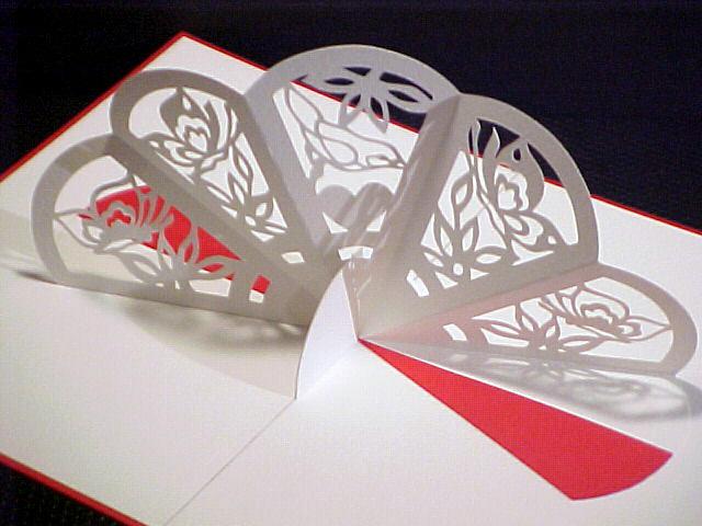 Киригами открытки своими руками схемы шаблоны